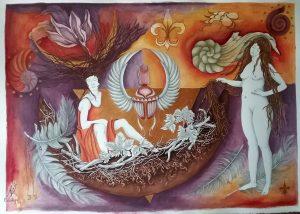 Obra de Odalys Hernández
